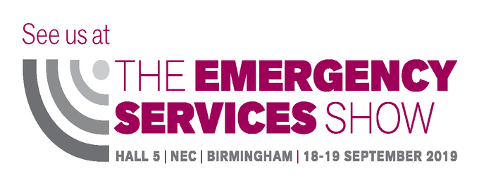 Meet us at The Emergency Services Show 2019