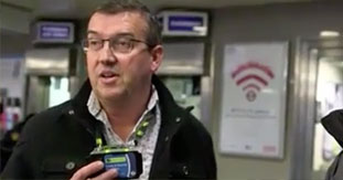 Edesix VideoBadge - Helping To Protect Officers On London Tube network