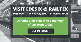 Edesix Showcase at Railtex 2017