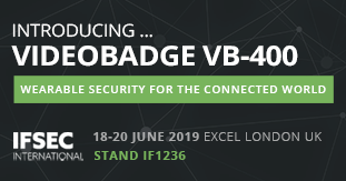 Edesix Launches New VideoBadge VB-400 at IFSEC 2019
